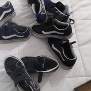 4 Pair of BOY'S VAN'S Shoes